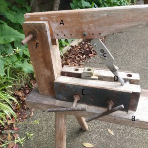 gin press for makimg tinderbox clay tobacco pipes
